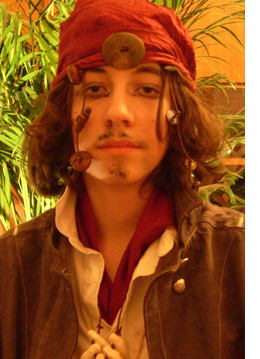 Fasching 2007, Captain Jack Sparrow